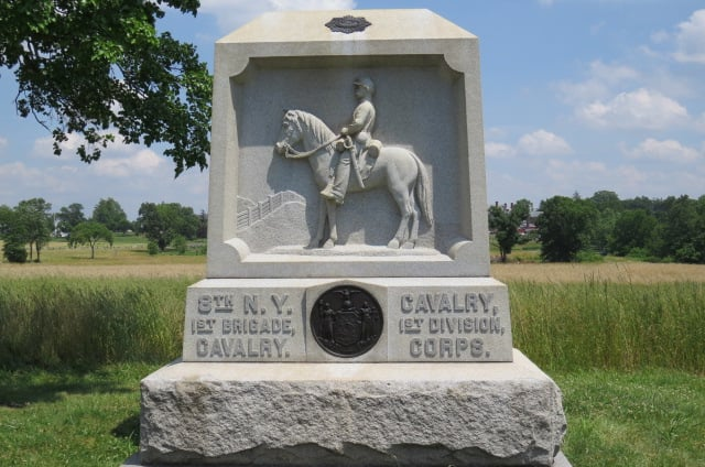 8th N.Y. 1st Brigade Cavalry Monument