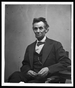 Abraham Lincoln February 1865