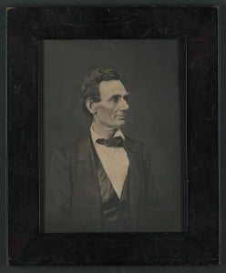 Abraham Lincoln Presidential Candidate