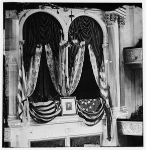 Abraham Lincoln's Box at Ford's Theater