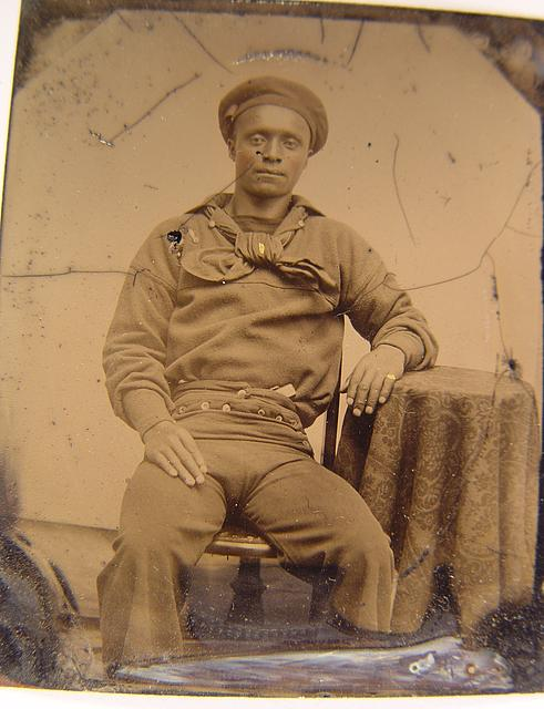 African American Sailor during the Civil War