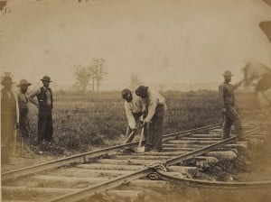 African Americans Working on a Union Railroad in Northern Virginia