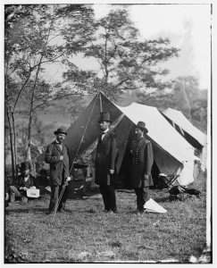 Allan Pinkerton, Abraham Lincoln, and General John A. McClernand