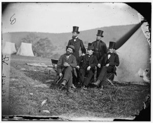 Allan Pinkerton with Associates