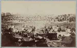 Andersonville Prison Northwest View, August 17th 1864