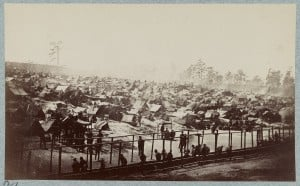Andersonville Prison Southeast View, August 17th 1864