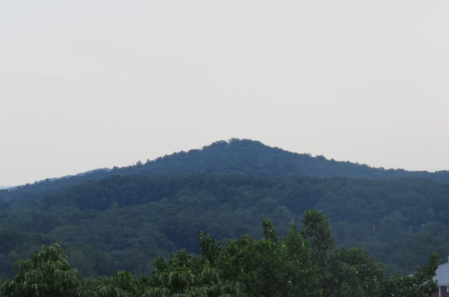 Big Round Top as seen from Culp's Hill