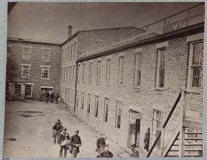 Castle Thunder Prison Courtyard, Richmond Virginia 1865