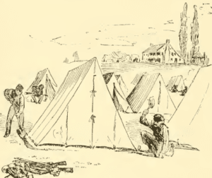 Civil War A Tent