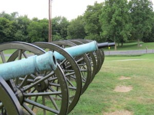 Civil War Artillery at Antietam