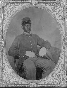 Civil War Black Soldier