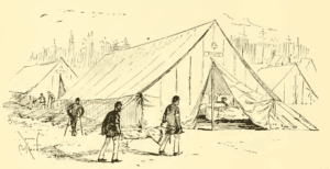 Civil War Hospital Tent