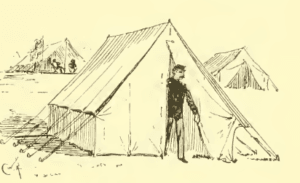 Civil War Officers Tent