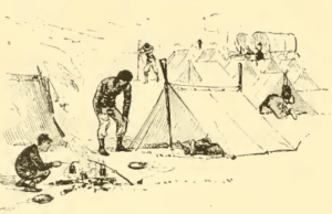 Civil War Shelter Tent