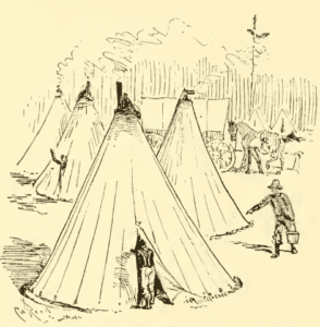 Civil War Sibley Tent