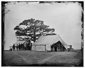 Civil War Sutlers Tent