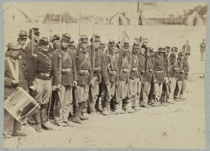 Company C, 110th Pennsylvania Infantry After the Battle of Fredericksburg
