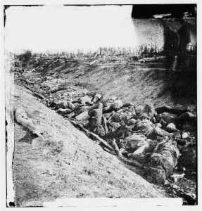 Dead Confederate Soldiers at Antietam