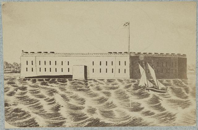 Fort Sumter Occupied by the Confederacy