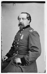 General Edward Ferrero led Black troops during the Battle of the Crater