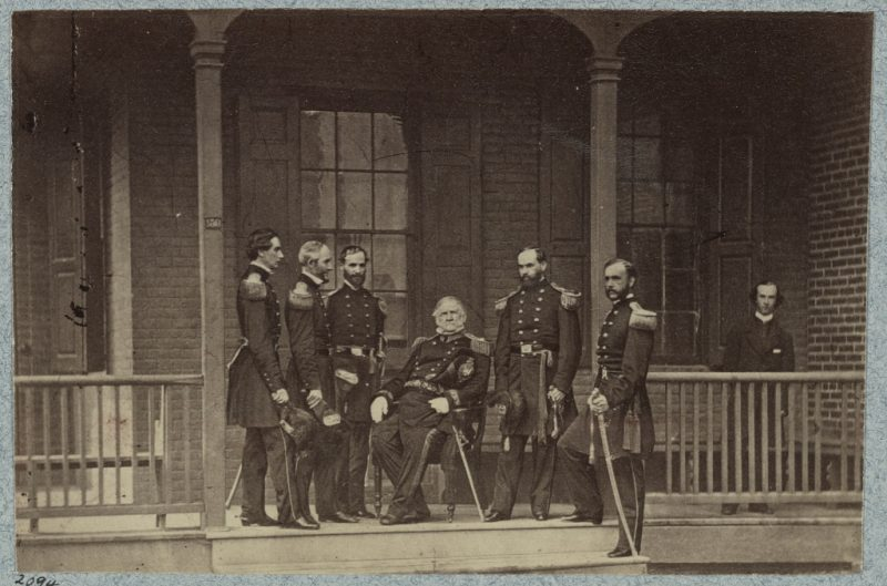 General Winfield Scott and Staff Officers