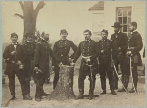 George McClellan and his Staff