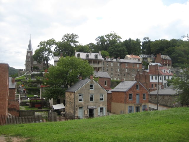 Abolitionist seized Harper's Ferry on October 16th 1859