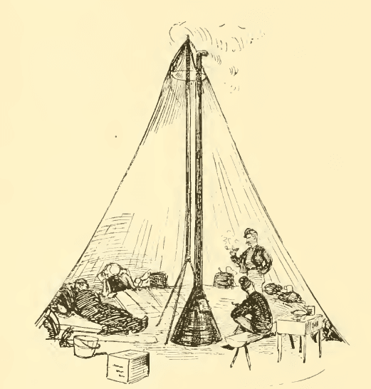 What Were Civil War Tents Made Out Of - Civil War Academy