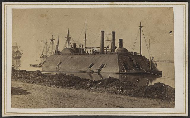 Ironclad USS Essex in 1862