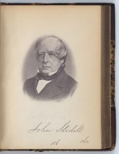 John Slidell Commissioner to France