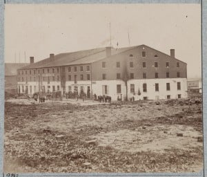 Libby Prison, Richmond Virginia April 1865