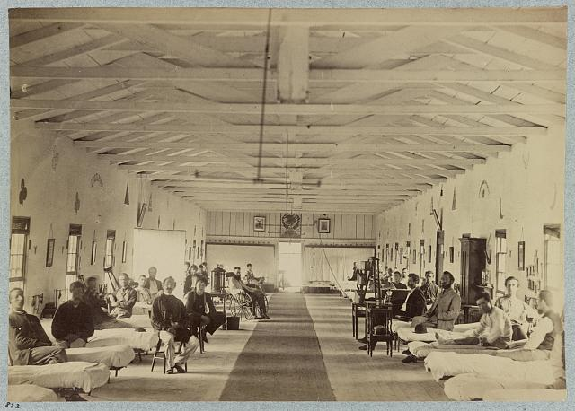 Treating Civil War Diseases at Armory Square Hospital, Washington, D.C.