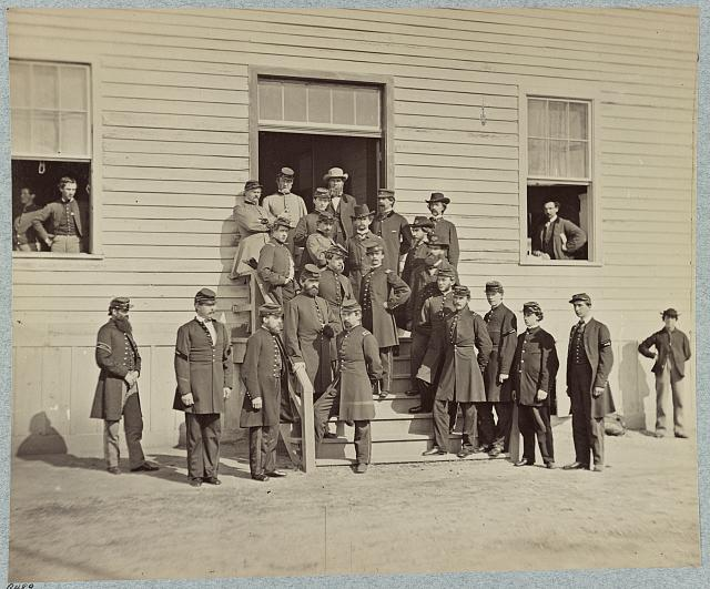 Surgeons and Stewards at Harewood Hospital, Washington, D.C.