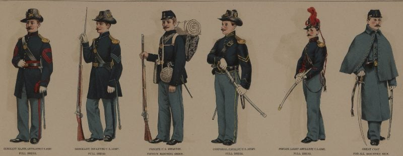 Union Civil War Enlisted Uniforms