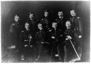 Union Officers at Fort Sumter