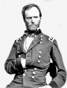 General Sherman taken in the Civil War