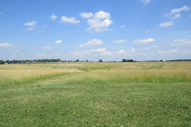 Pickett's Charge - View from the Confederate Starting Position