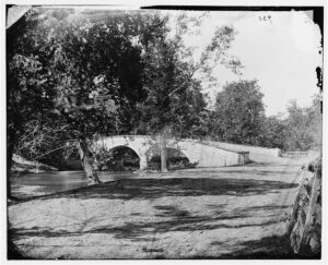 Burnside Bridge During Civil War