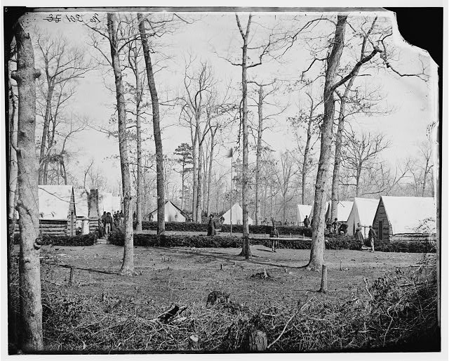 Civil War Field Hospital