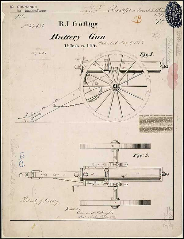 Gatling Gun Civil War